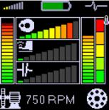 Adash A4900 Vibrio III; unbalance, looseness, misalignment