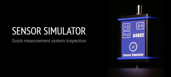 Adash vibration sensor simulator