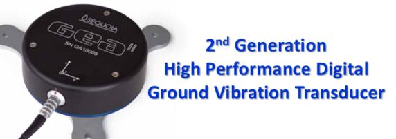 GEA ground vibration transducer