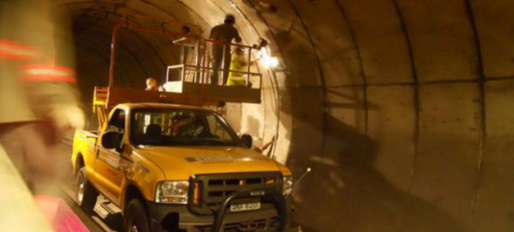 HBM Optical Strain Gage for tunnel monitoring