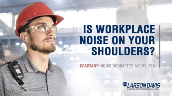Larson Davis new 730 Spartan Dosimeter