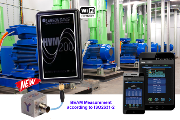 measure ground vibration according to ISO2631-2