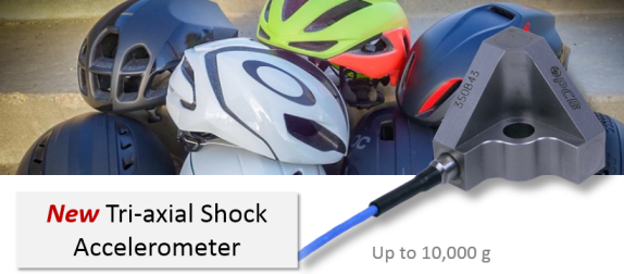 PCB new triaxial shock accelerometer